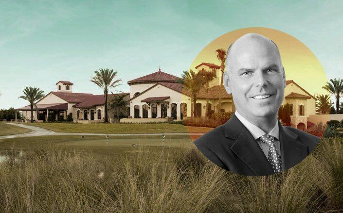 Toll Brothers chairman and CEO Douglas C. Yearley, Jr. with Jupiter Country Club (Toll, Facebook via Jupiter Country Club)
