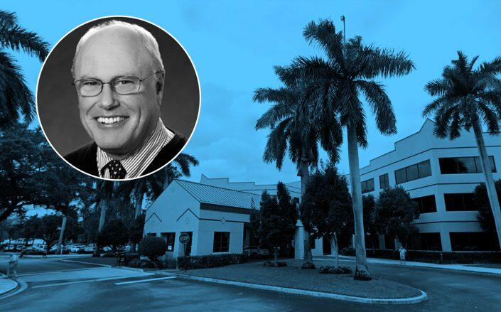 1905 Clint Moore Road in Boca Raton withHealthcare Trust of America interim President and CEO Peter Foss (Google Maps, Healthcare Trust of America)