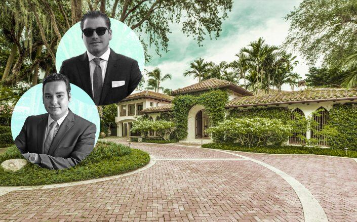 Alejandro Diaz Bazan and Andres Isaias of Andian Group with the property (Bazan)