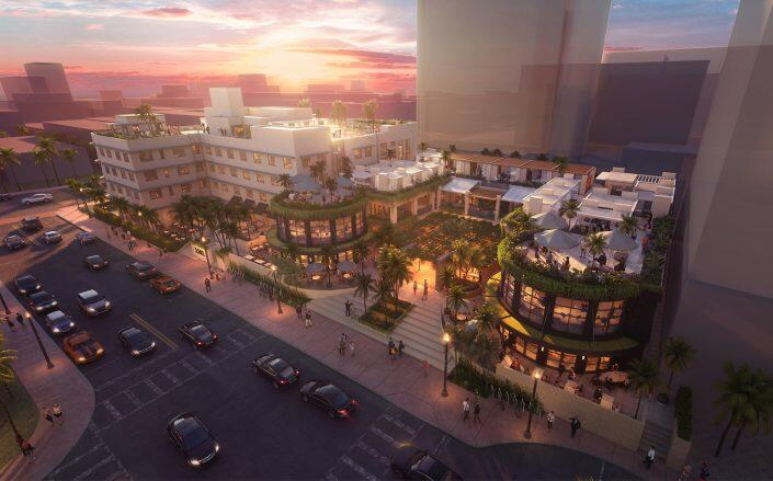 Renderings of the project Courtesy of Pebb Capital
