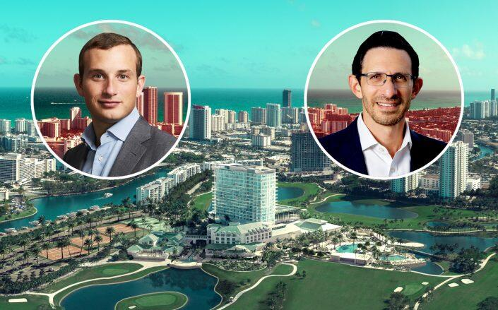 Alex Witkoff, Ari Pearl and the Diplomat in Hallandale Beach (Witkoff, Pearl Property Group)