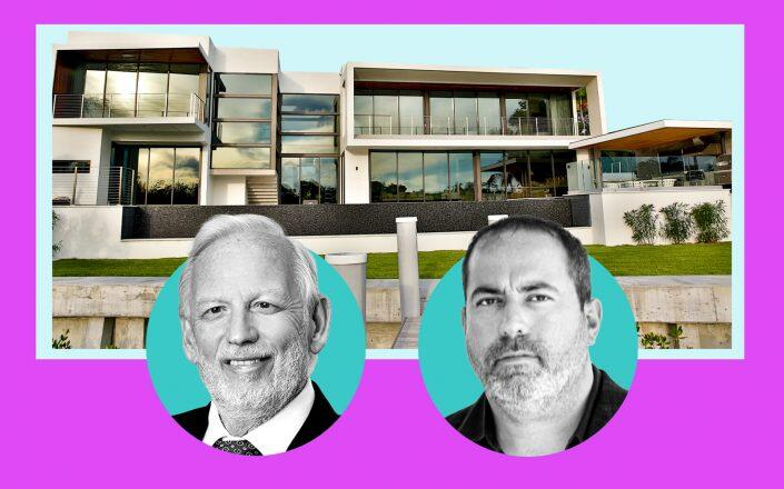 Bar Invest Group CEO Jacques Barbera and MV Group USA CEO Manny Varas with 440 Costanera Road (Bar Invest Group, MV Group USA)