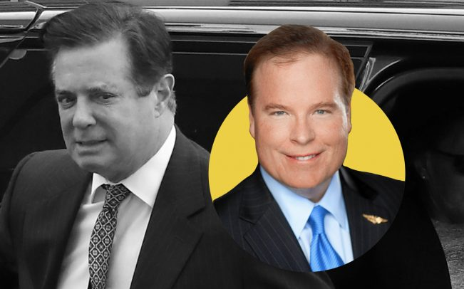 Paul Manafort and Stephen Calk (Credit: Getty Images)