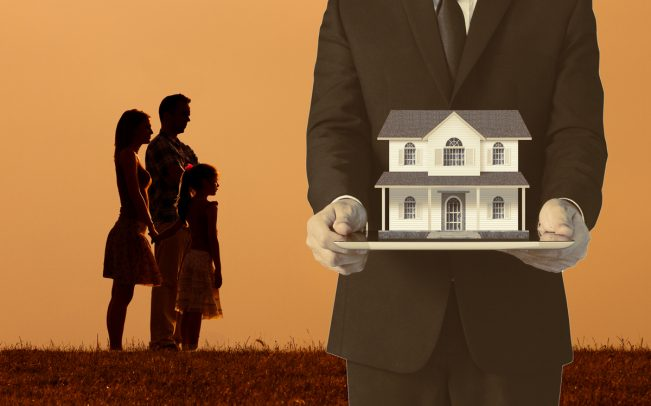 First-time home buyers are struggling to compete with deep-pocketed institutional investors. (Credit: iStock)