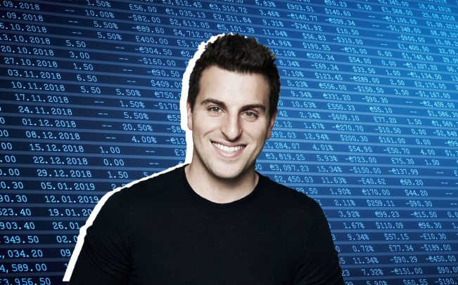 Airbnb CEO Brian Chesky (Credit: iStock)