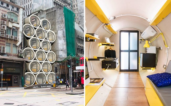 How tiny tubular homes could be a salvation for Hong Kong