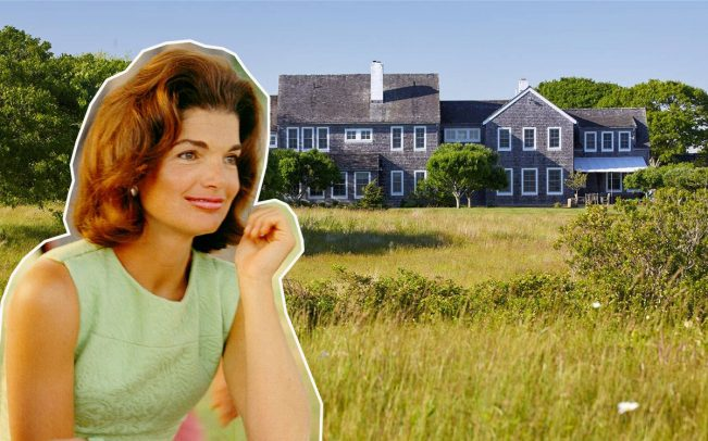 Jacqueline Kennedy and Red Gate Farm (Credit: Getty Images)