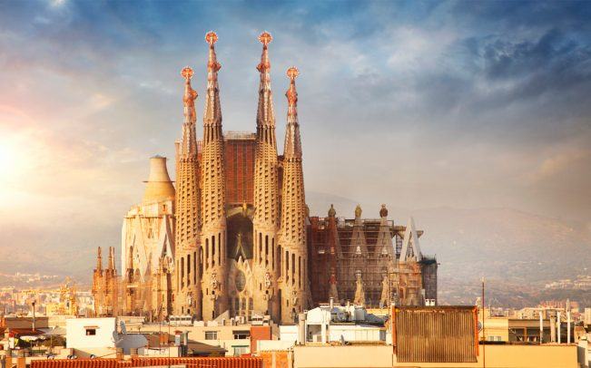 Sagrada Familia Cathedral in Barcelona (Credit: iStock)