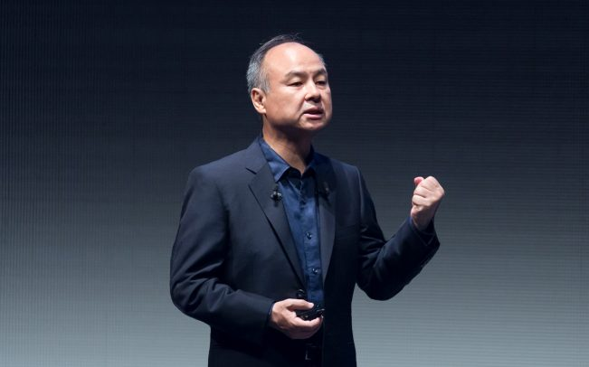 SoftBank Chief Executive Masayoshi Son (Credit: Getty Images)