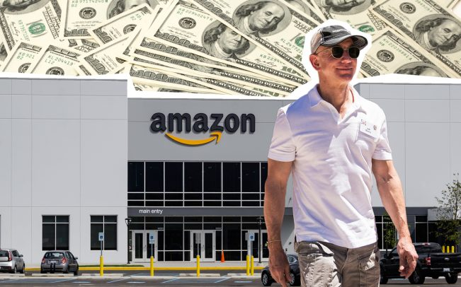 Amazon CEO Jeff Bezos (Credit: Getty Images)