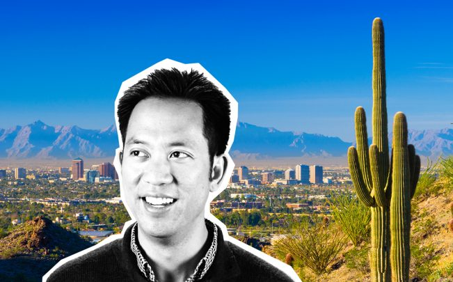 Opendoor CEO Eric Wu and Pheonix (Credit: Resolute Ventures and iStock)