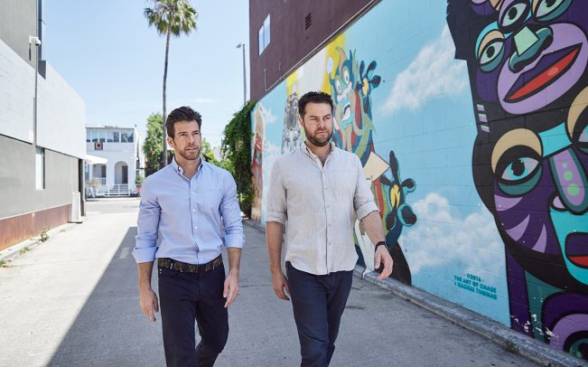 Fifth Wall co-founders Brendan Wallace and Brad Greiwe (Credit: Jeff Newton)