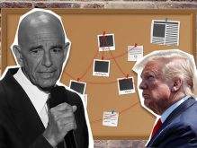 Tom Barrack and Donald Trump (Credit: Getty Images and iStock)