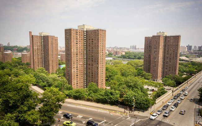NYCHA Polo Grounds Houses (Credit: Getty Images)