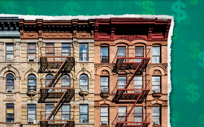 New York City apartment building (Credit: iStock)