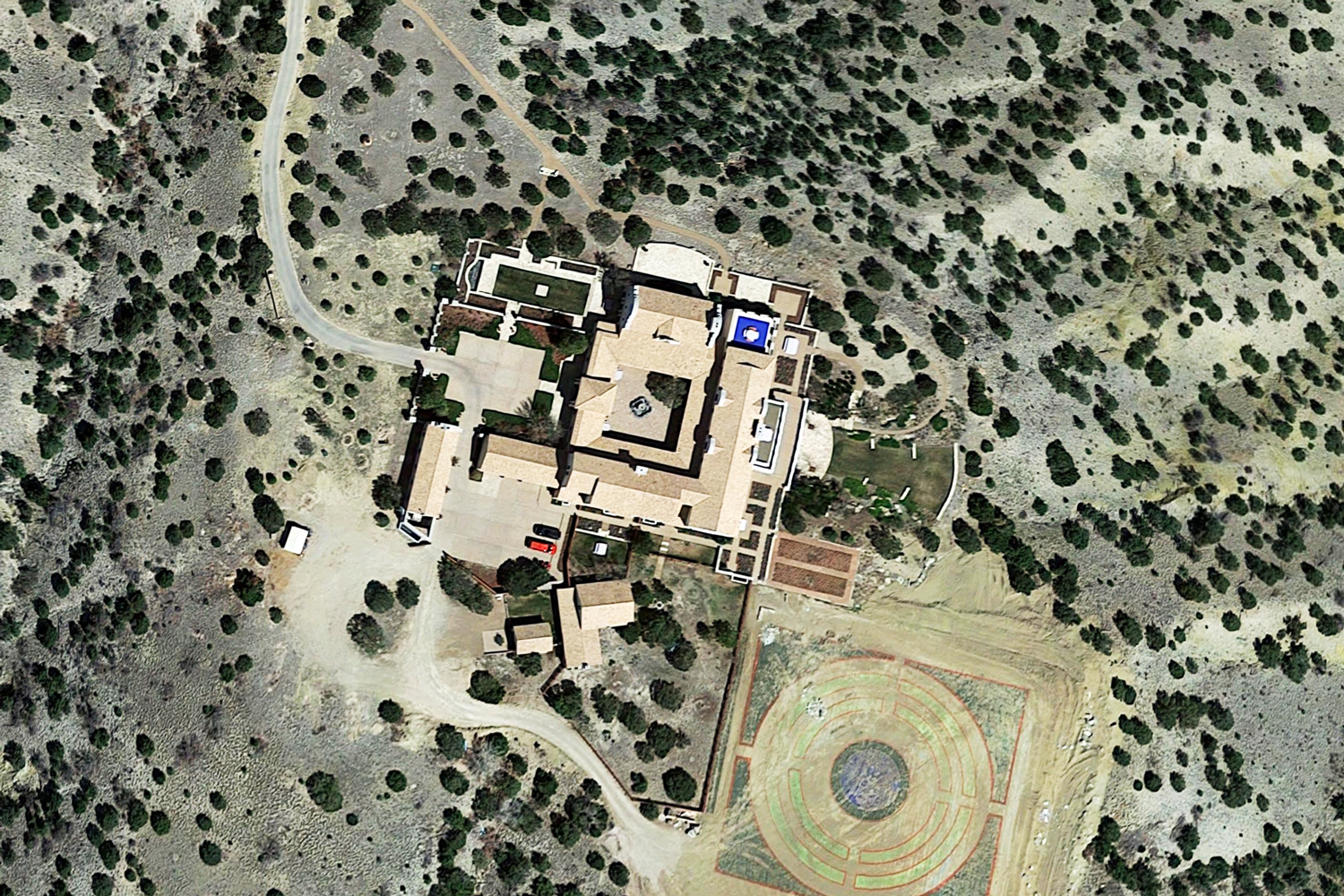 Zorro Ranch in Stanley, New Mexico (Credit: Google Maps)