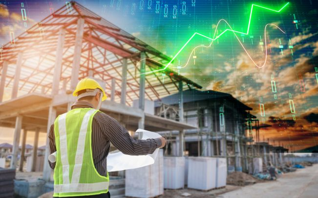 Homebuilding shares are close to their highest levels of the year thanks to low mortgage rates (Credit: iStock)