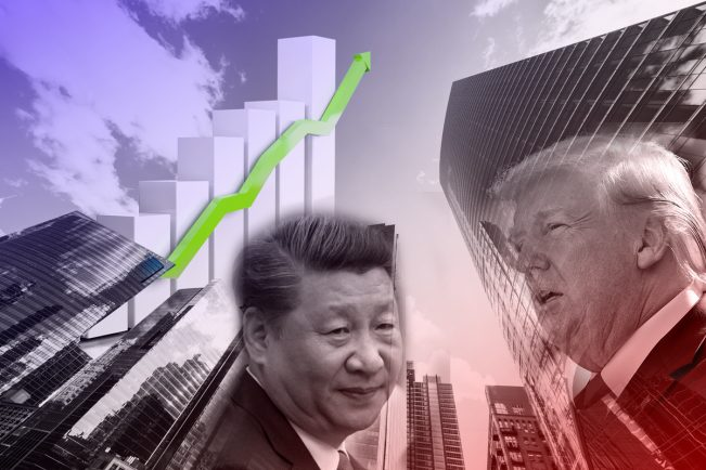 With a cooling trade war, stocks perform well, including real estate. (Credit: iStock)