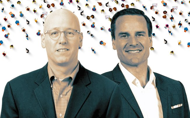 CrowdStreet CEO Tore Steen and vice president Darren Powderly (Credit: CrowdStreet and iStock)