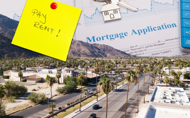 Palm Springs, California is home to more than 7,600 land leases (Credit: iStock)