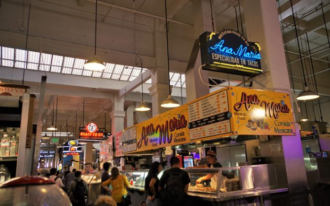 Grand Central Market (credit: Joey Zanotti via Flickr)