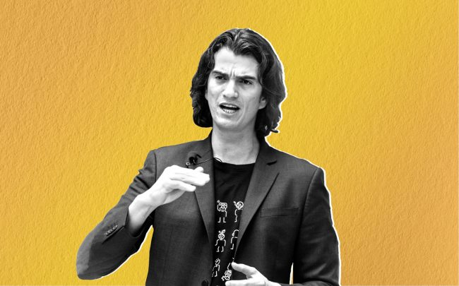 Former WeWork CEO Adam Neumann (Credit: Getty Images, iStock)
