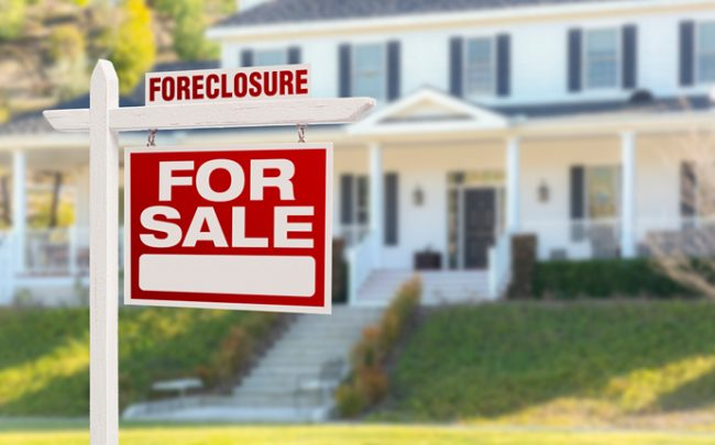 Home foreclosures are dropping (Credit: iStock)