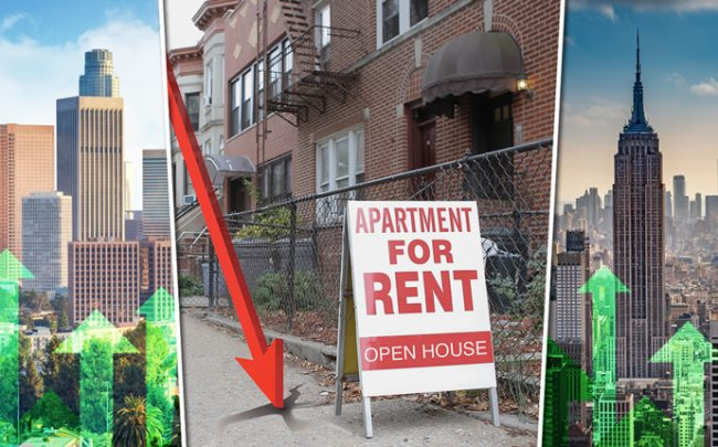 Rents are flat or stagnate in many US cities (Credit: iStock)