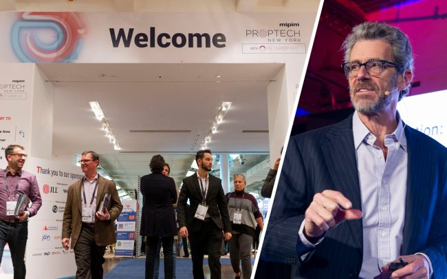 Empire State Realty Trust's CEO Tony Malkin at last year's MIPIM conference in New York (Credit: Getty Images)