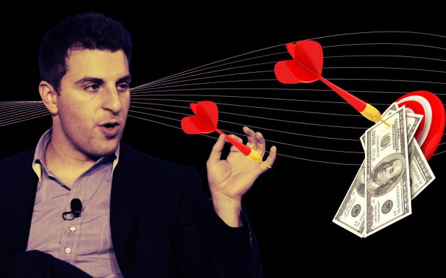 Airbnb CEO Brian Chesky (Getty; iStock)