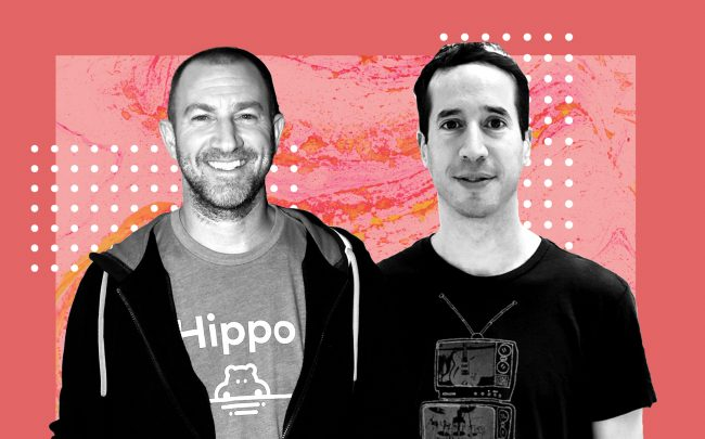 Hippo founders Assaf Wand and Eyal Navon (LinkedIn)