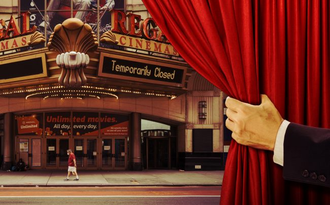 For many movie theaters, Covid-19, which has kept viewers at home and new releases from the screen, feels like the final curtain. (iStock)
