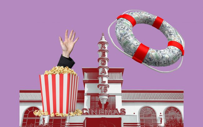 The second-largest movie theater operator in the U.S. is hunting for a financial lifeline (iStock)