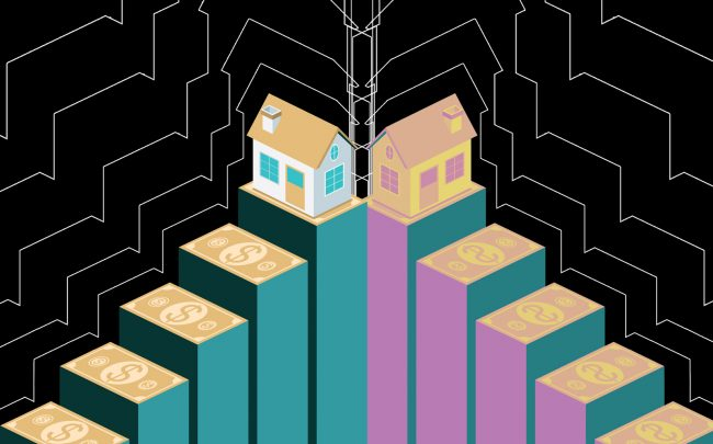 New research finds that single-family home prices jumped 12% last quarter from last year. (iStock)