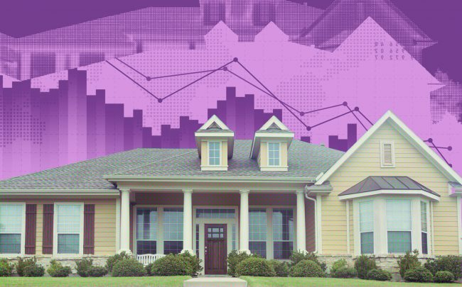 The total supply of single-family homes declined 40 percent to 3.3 months in October (iStock)