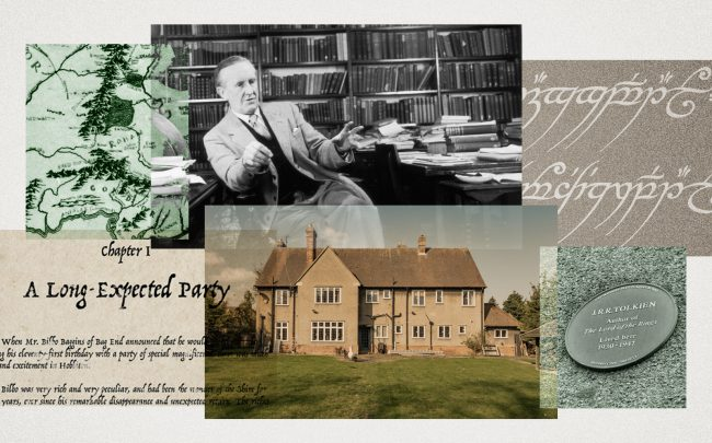 """J.R.R. Tolkien's Oxford home where the author wrote """"The Lord of the Rings"""" (Getty, Project North Moor, Wikimedia Commons)"""