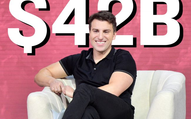 Airbnb CEO Brian Chesky (Getty)