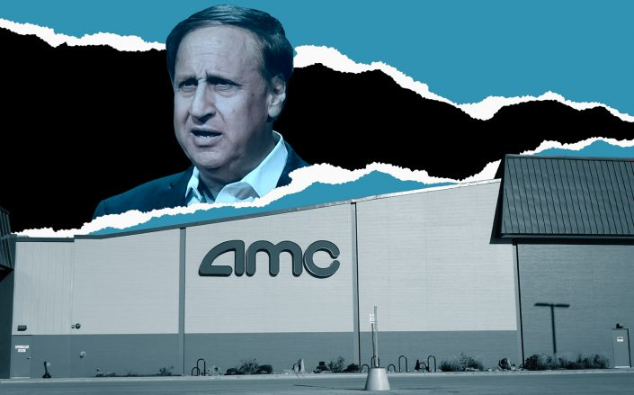 AMC Entertainment Holdings CEO Adam Aron (Getty)