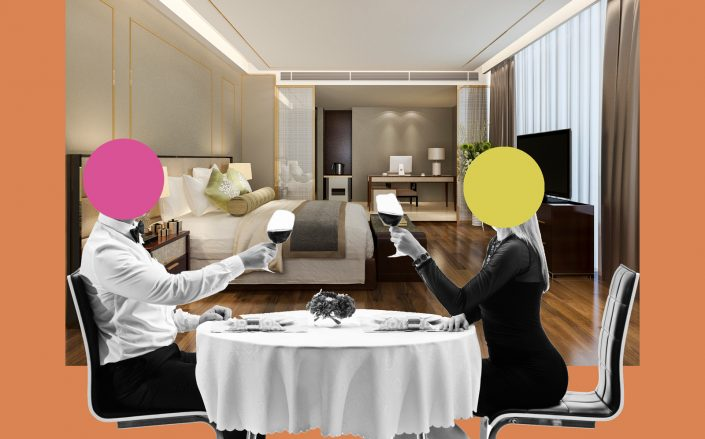 Some restaurants and hotels are partnering up to offer private dining in empty rooms, in an attempt to survive the economic fallout of the pandemic. (iStock)