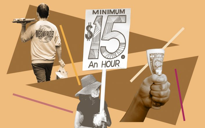 Half of U.S. states will be raising the minimum wage in 2021 (Getty Images; iStock)