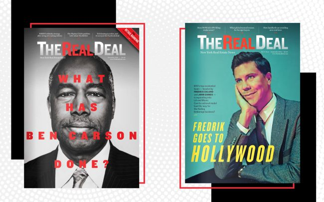 The Real Deal's December 2019 and September 2019 issues
