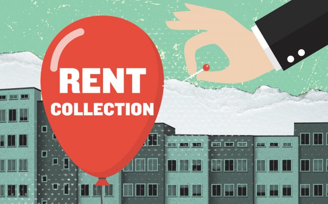 Market-rate apartment owners reported the lowest rent collection since early in the pandemic. (iStock)