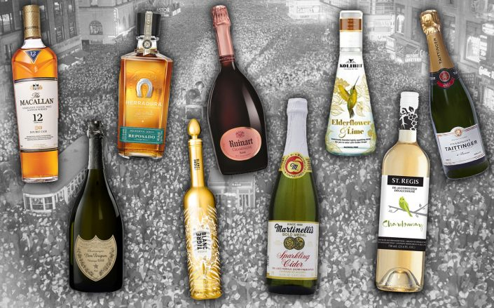 TRD's favorites wines, spirits and non-alcoholic beverages. (Getty, Amazon, Wine.com)