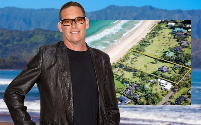 Mike Fleiss and his Hanalei home (Getty, Hawaii Life)