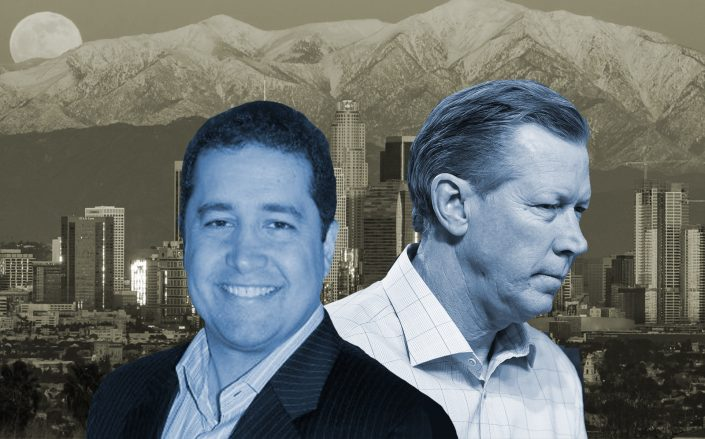 Nick Chini and Orel Hershiser are two of the parters at Bainsbridge. (Getty, LinkedIn via Nick Chini)