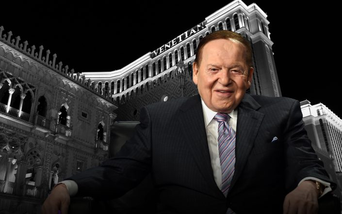 Sheldon Adelson and the Venetian in Las Vegas (Gettty)