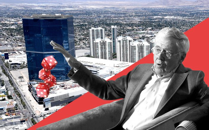 Charles Koch of Koch Real Estate Investments and 2777 South Las Vegas Boulevard (Getty, iStock)