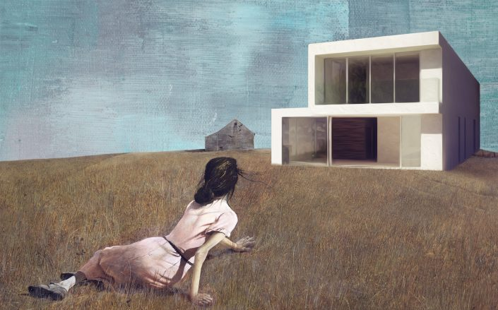 Housing inventory fell to a historic low last month. (iStock, Andrew Wyeth via MOMA)