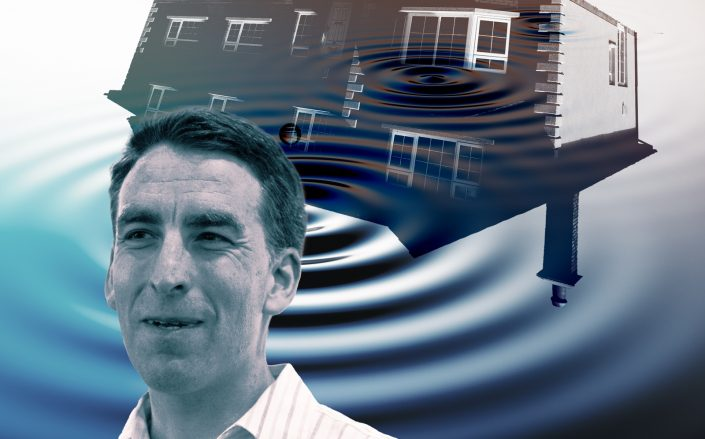 Redfin CEO Glenn Kelman (Ars Technica, iStock/Illustration by Kevin Rebong for The Real Deal)