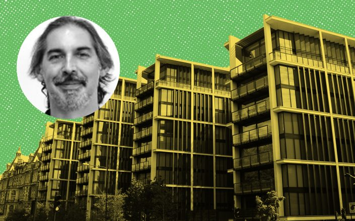 Suneil Setiya and the One Hyde Park complex (Photos via Wikipedia Commons/Rob Deutscher and Synergos)
